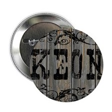 "Keon, Western Themed 2.25"" Button"