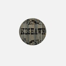 Keshawn, Western Themed Mini Button