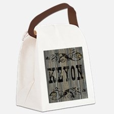 Keyon, Western Themed Canvas Lunch Bag