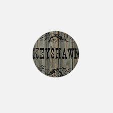 Keyshawn, Western Themed Mini Button