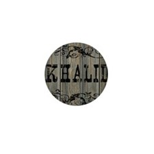 Khalid, Western Themed Mini Button