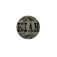 Kian, Western Themed Mini Button
