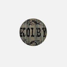 Kolby, Western Themed Mini Button