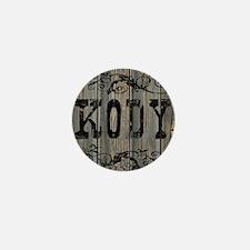 Kody, Western Themed Mini Button