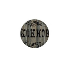 Konnor, Western Themed Mini Button