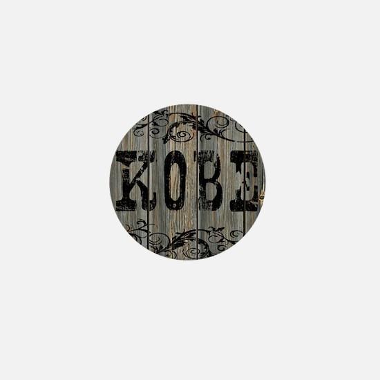 Kobe, Western Themed Mini Button