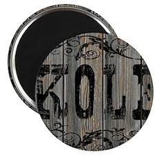 Kole, Western Themed Magnet