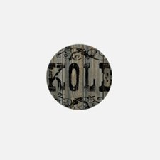 Kole, Western Themed Mini Button