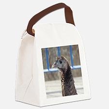 Turkey Face Canvas Lunch Bag