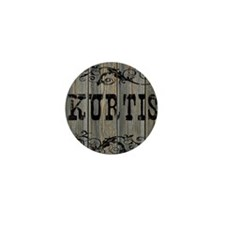 Kurtis, Western Themed Mini Button