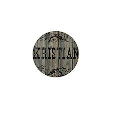 Kristian, Western Themed Mini Button