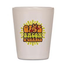 Give Bacon A Chance Shot Glass