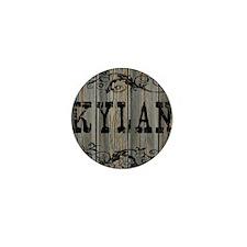 Kylan, Western Themed Mini Button