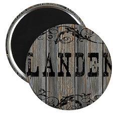 Landen, Western Themed Magnet