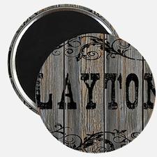 Layton, Western Themed Magnet