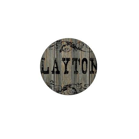 Layton, Western Themed Mini Button
