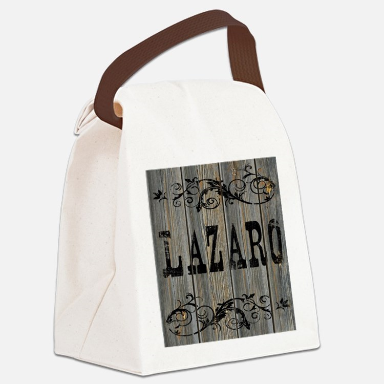 Lazaro, Western Themed Canvas Lunch Bag