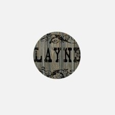 Layne, Western Themed Mini Button