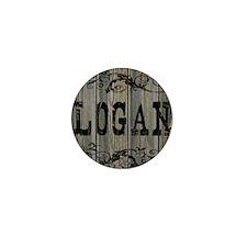 Logan, Western Themed Mini Button