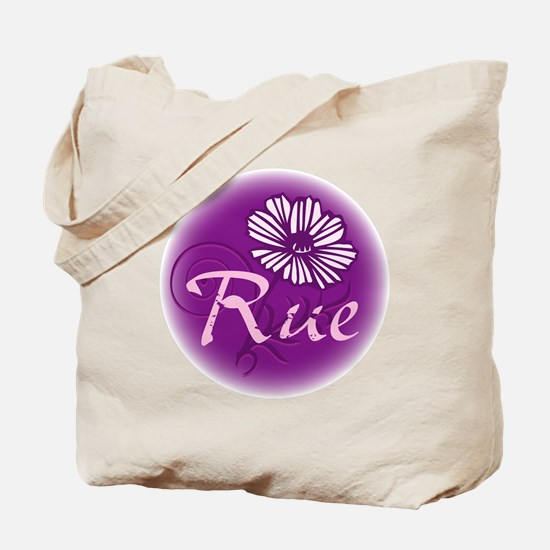 Remember Rue Purple Tote Bag
