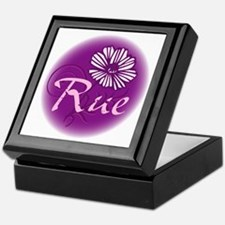 Remember Rue Purple Keepsake Box