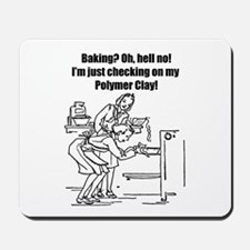 Baking? No - Polymer Clay! Mousepad
