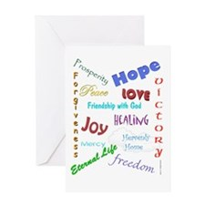 Jesus Gives Me Reason to Celebrate r Greeting Card