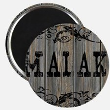 Malaki, Western Themed Magnet