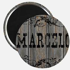 Marcelo, Western Themed Magnet