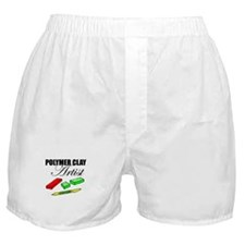 Polymer Clay Artist Boxer Shorts