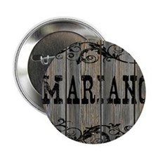 """Mariano, Western Themed 2.25"""" Button"""