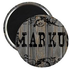 Markus, Western Themed Magnet