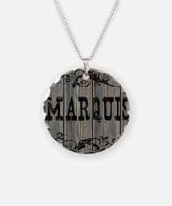 Marquis, Western Themed Necklace