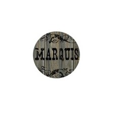 Marquis, Western Themed Mini Button