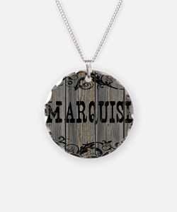 Marquise, Western Themed Necklace