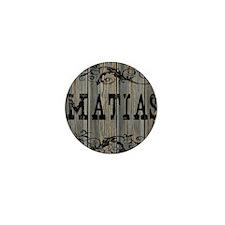 Matias, Western Themed Mini Button