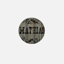 Mathias, Western Themed Mini Button