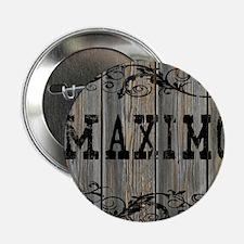 "Maximo, Western Themed 2.25"" Button"