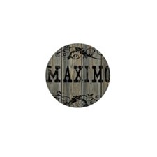 Maximo, Western Themed Mini Button
