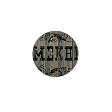 Mekhi, Western Themed Mini Button