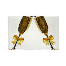 Champagne Glasses Magnets