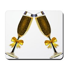 Champagne Glasses Mousepad