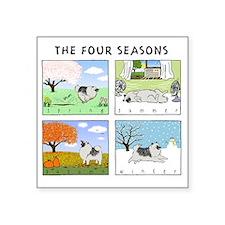 "4seasonsnitetee Square Sticker 3"" x 3"""