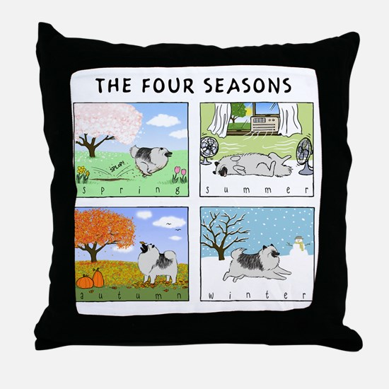 4seasonsnitetee Throw Pillow