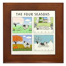 4seasonsnitetee Framed Tile