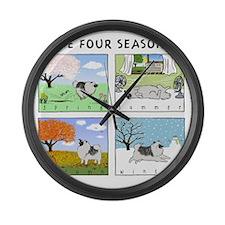4seasonsnitetee Large Wall Clock