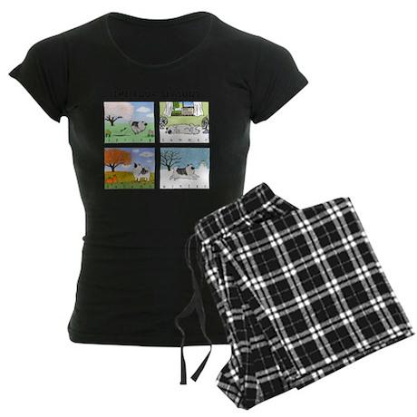 4seasonsnitetee Women's Dark Pajamas