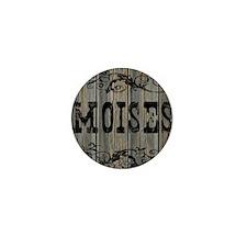 Moises, Western Themed Mini Button