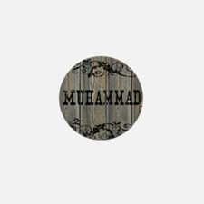 Muhammad, Western Themed Mini Button