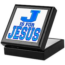 J is for Jesus Keepsake Box